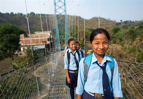 Suspension Bridges for Safe Routes and Democracy | Nepal