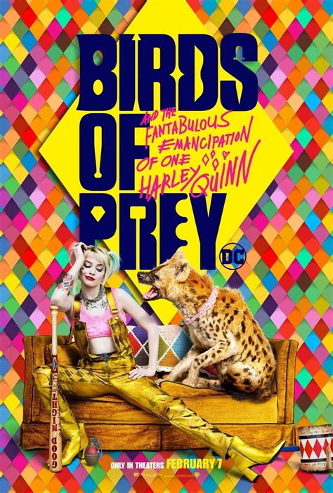 BIRDS OF PREY Releases a Bunch of Posters Featuring Harley