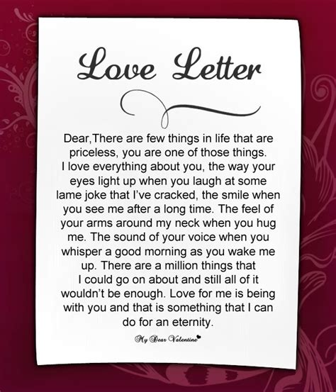 Express your love to your beloved through this love letter