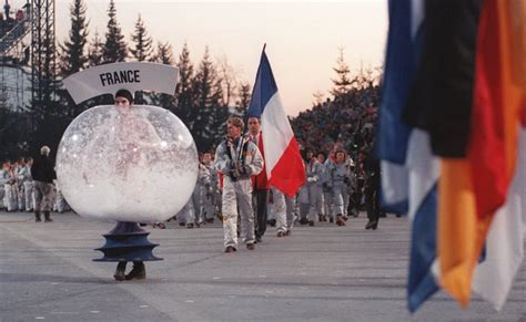 Albertville, France, hosted in 1992, when human snow