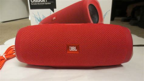JBL Charge 3 Unboxing & Sound Test - YouTube